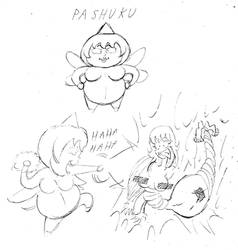 OC VILLAINESS - Pashuku The Hyper Fairy