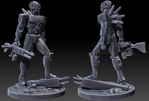 Full Conversion Cyborg Sculpt by tomisaksen