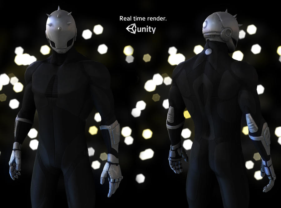 Character Design Unity : Real time unity character by tomisaksen on deviantart