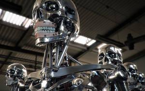 Robot Endoskeleton 2 by tomisaksen