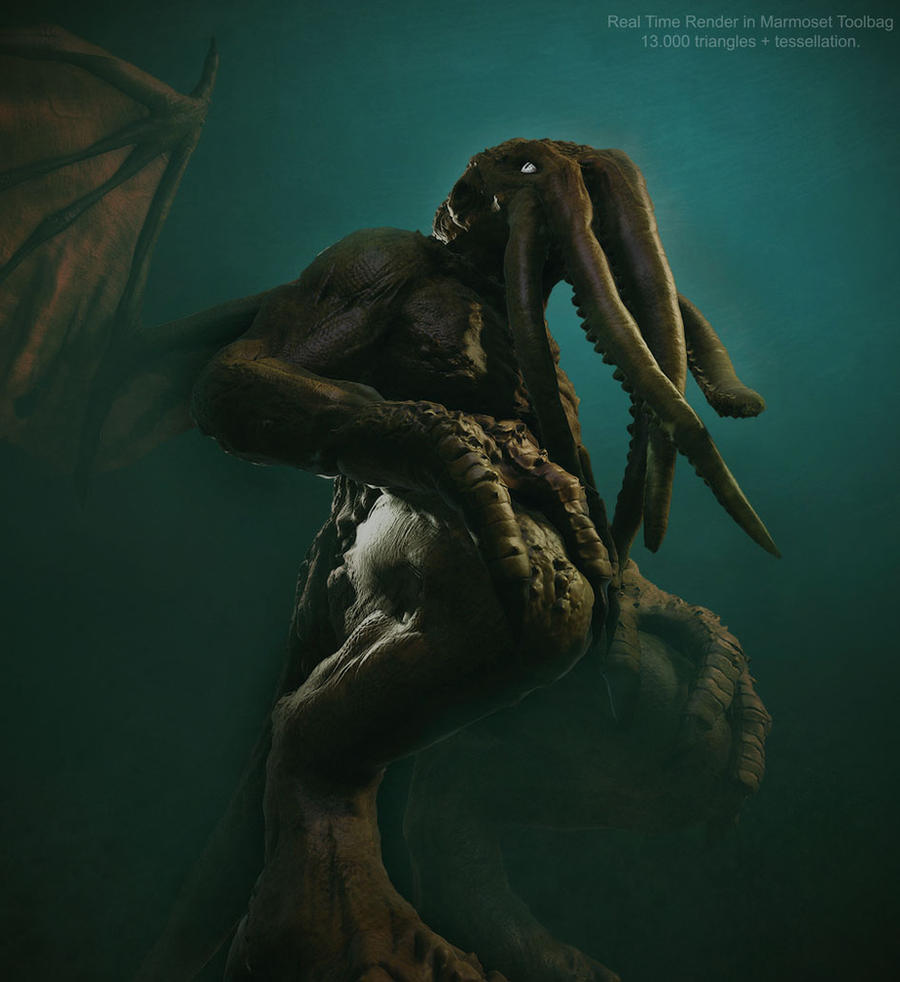 Cthulhu by tomisaksen
