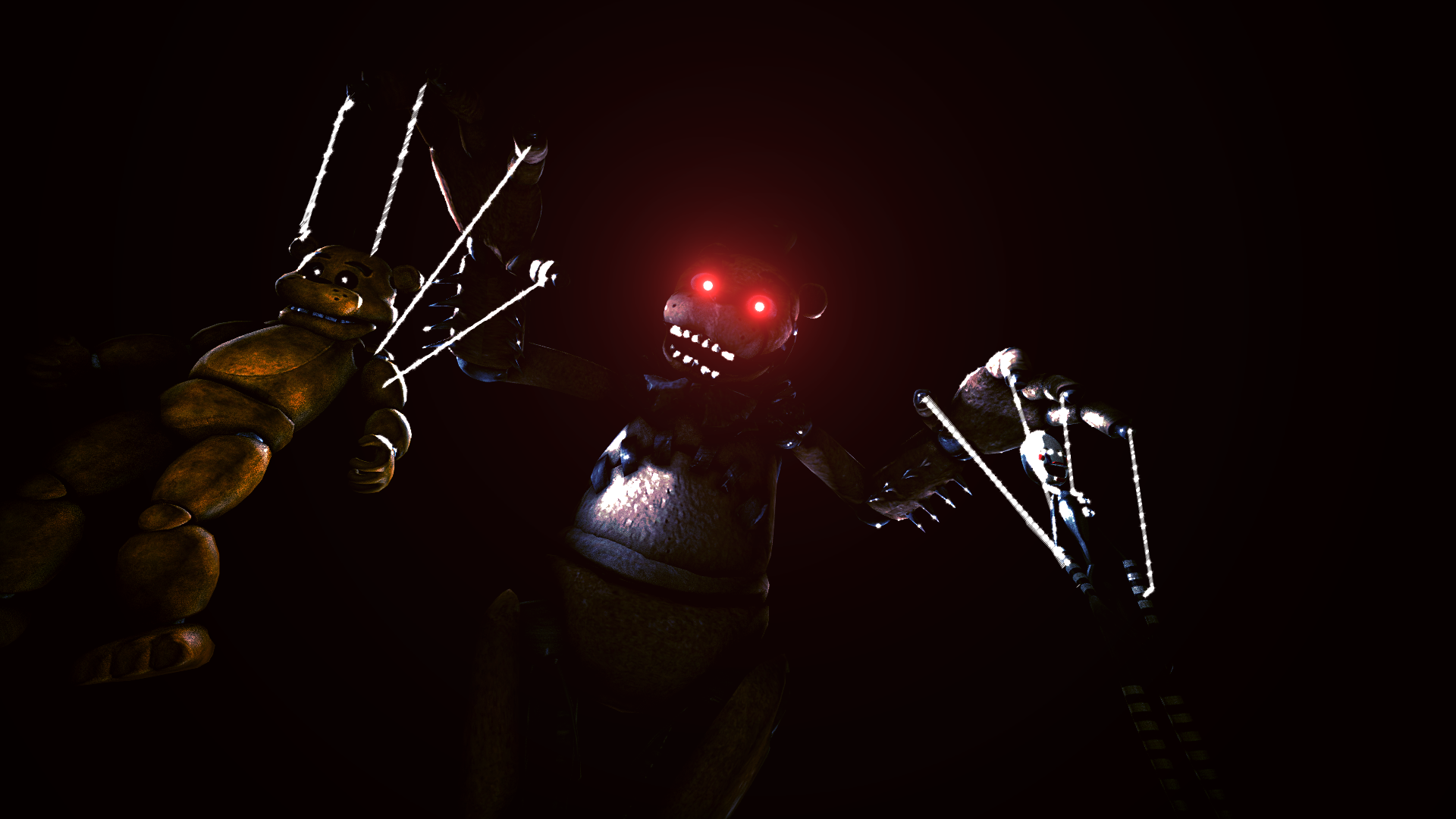 Drawkill freddy the puppeteer by ionyen on deviantart