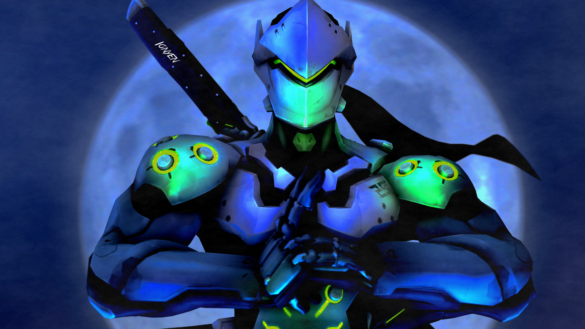 Genji Overwatch By Ionyen On Deviantart