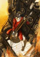 Mad Max Fury Road: The Coma-Doof Warrior by ArtofAlberto