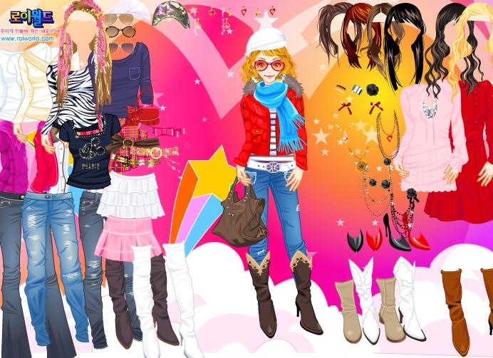 Online games girl dress up