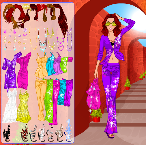 Holiday Fashion Dress Up Game By Willbeyou On Deviantart