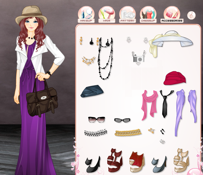 Elegant stylist dress up game by willbeyou on deviantart for Anime wedding dress up games