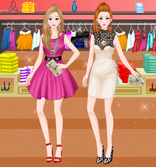 High Fashion Twins Dress Up Game By Willbeyou On Deviantart