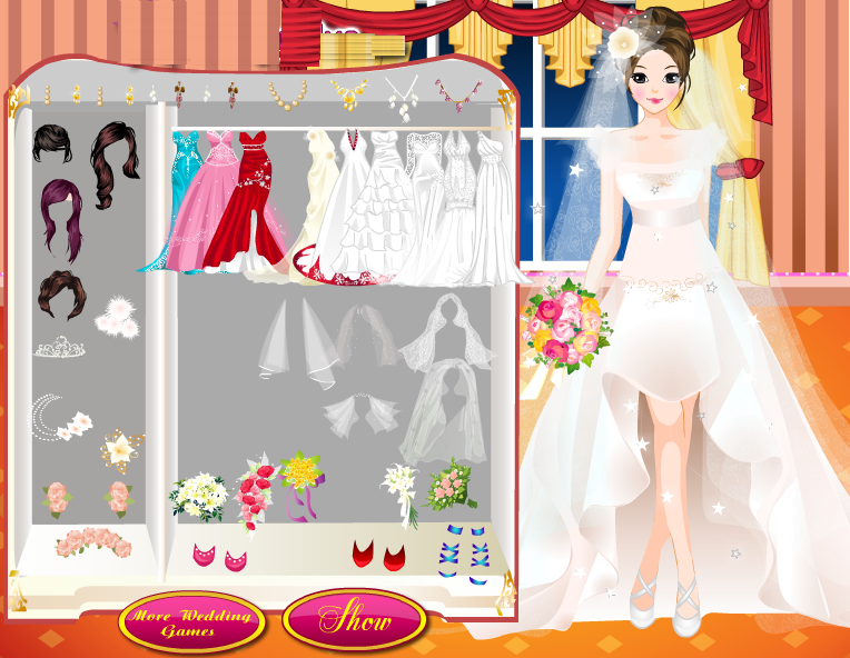 Design Dress Up Games Wedding Dress up Games by