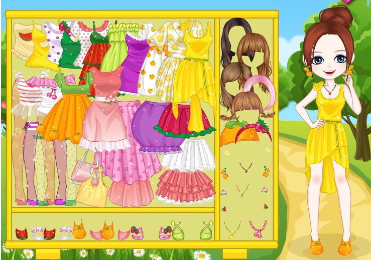 Pretty Fruit Girl - Fashion Games by willbeyou