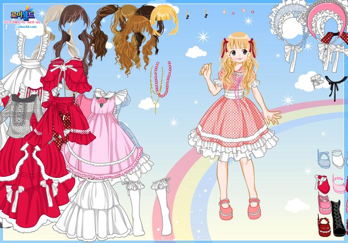 Anime Girl Dress Up