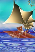 Sailing a Fractal Sea by Shadoweddancer