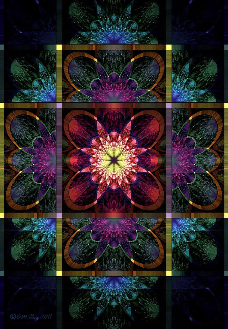 Floral Panel by Shadoweddancer
