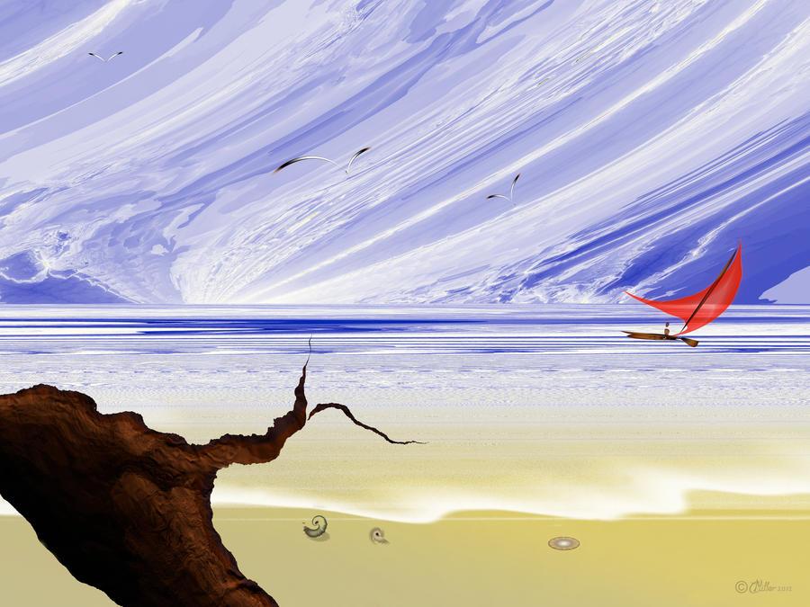 Coastal Idyll by Shadoweddancer