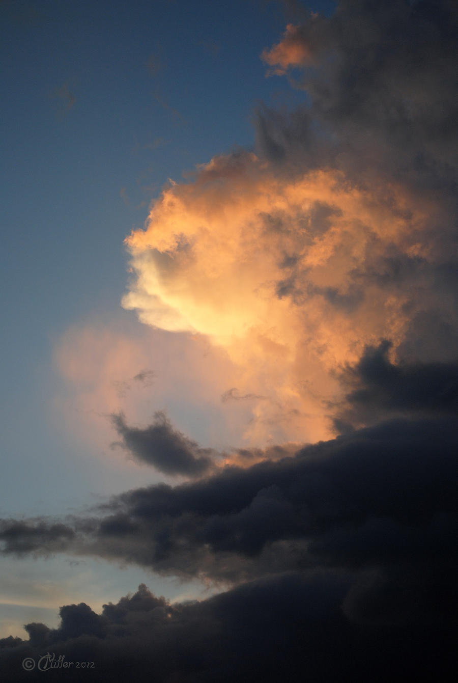 Storm Building Over the Gulf
