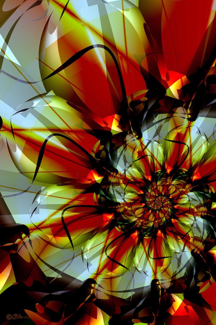 Melodia Chrysanthemum by Shadoweddancer