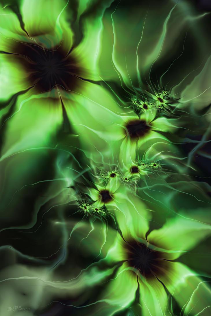 Ghostly Blossoms by Shadoweddancer
