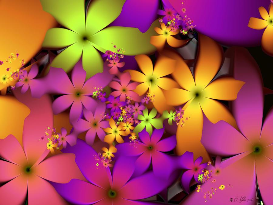 Jungle-blooms by Shadoweddancer