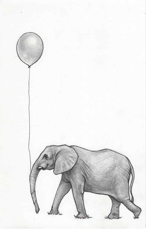 Elephant by gabbachoo