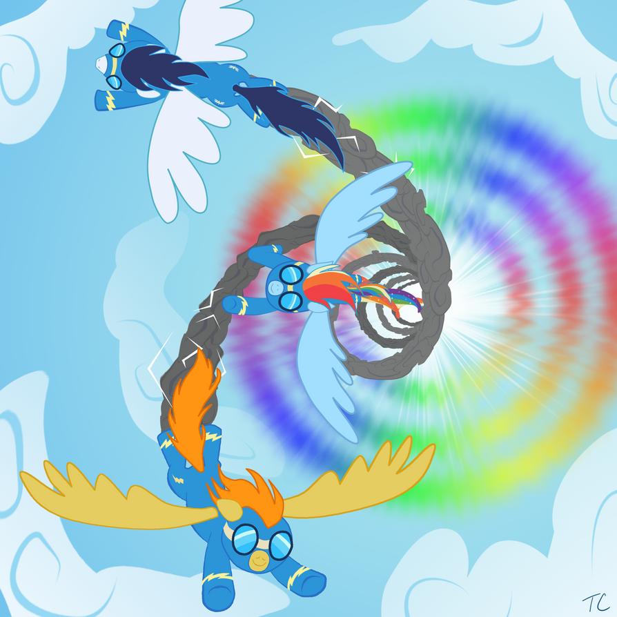 The Wonderbolts! By ThundercrackerMLP On DeviantArt