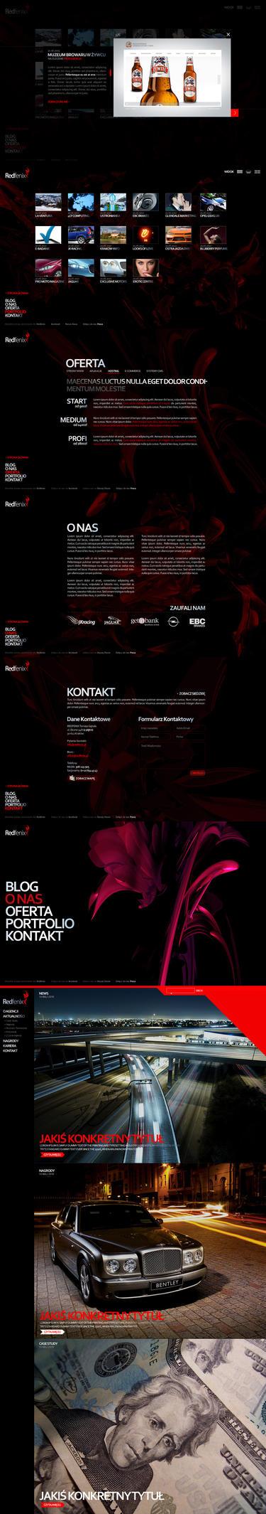Redfenix - Interactive Agency by gebalatomasz