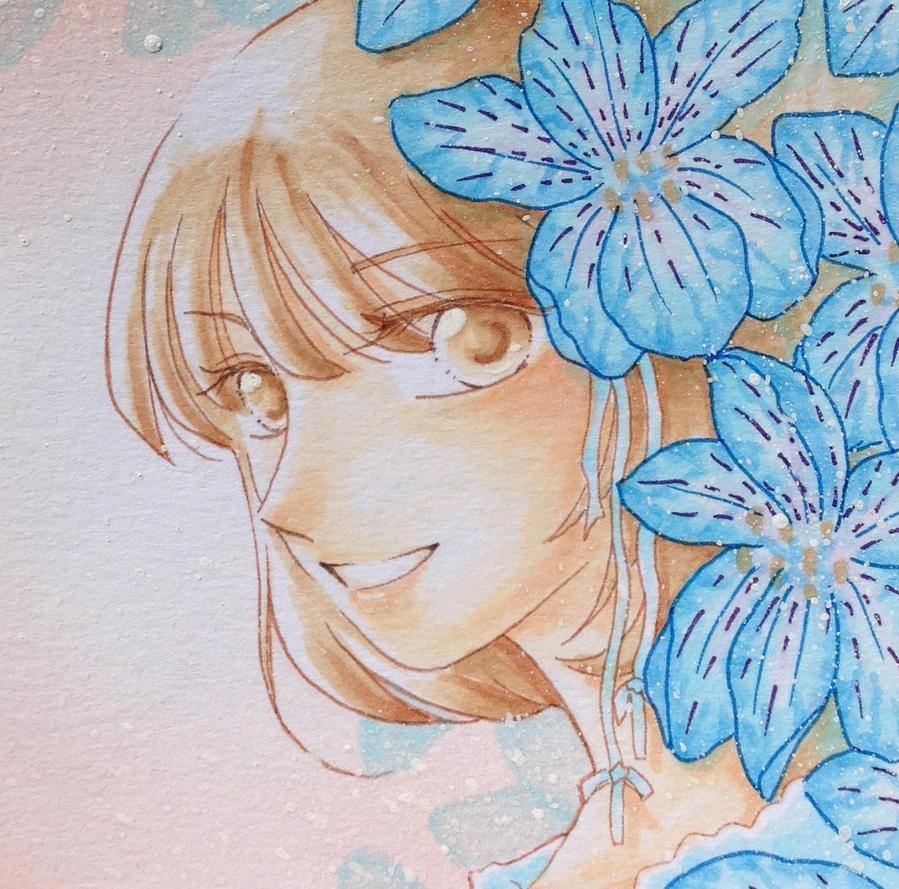 Blue by LLLJJJ