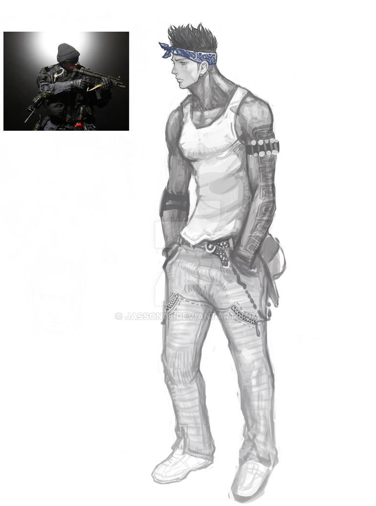bandana guy by jasson78