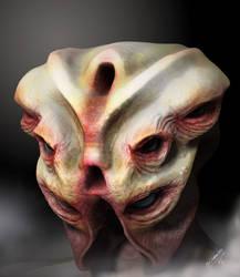 Creature n.7 - Dark Version. by 3dmetrius