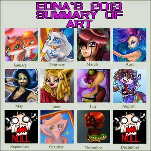 Edna's 2013 Summary of ART
