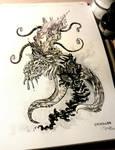 INKTOBER #13 - Cajoler of Azathoth