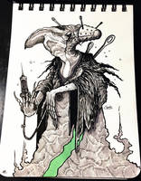 INKTOBER'18 - #11 - Cruel by hubertspala