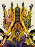 Hastur, the King in Yellow by hubertspala