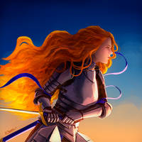 She burns like Fire! by Clowth