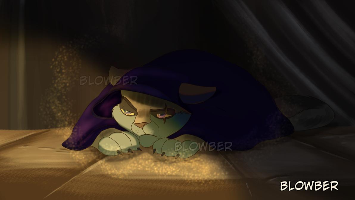 Saba's hideout by blowber