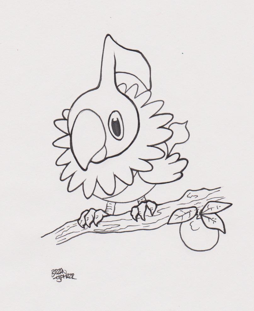 Pokemon: Sketch by ArtOfTypH