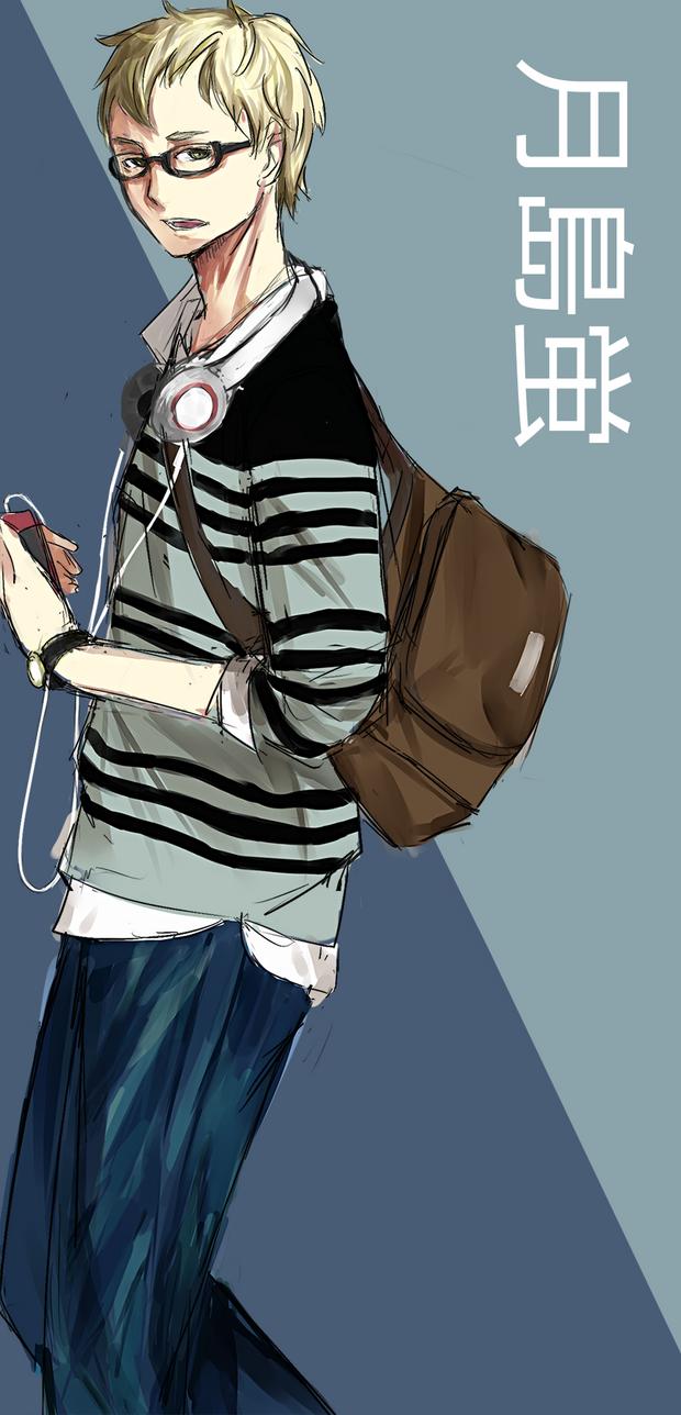 TSUKISHIMA KEI by Hiyoko-riin