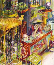 Pet Shop by flakycake