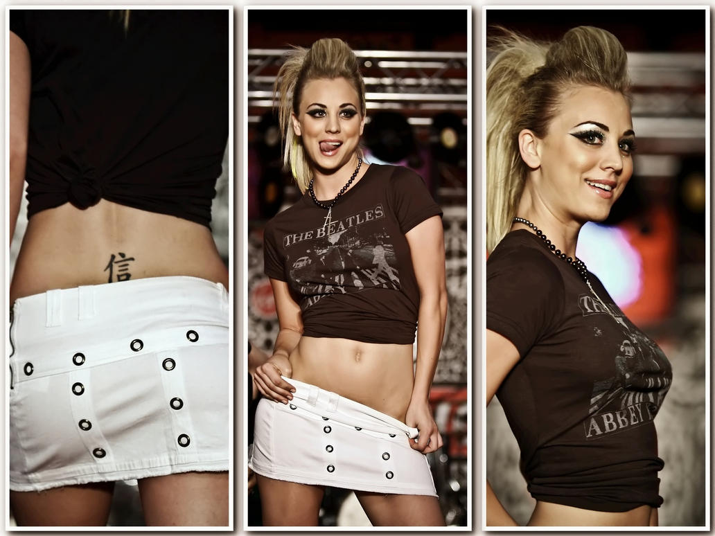 Kaley Cuoco - wallpaper v02 by Duke-3d