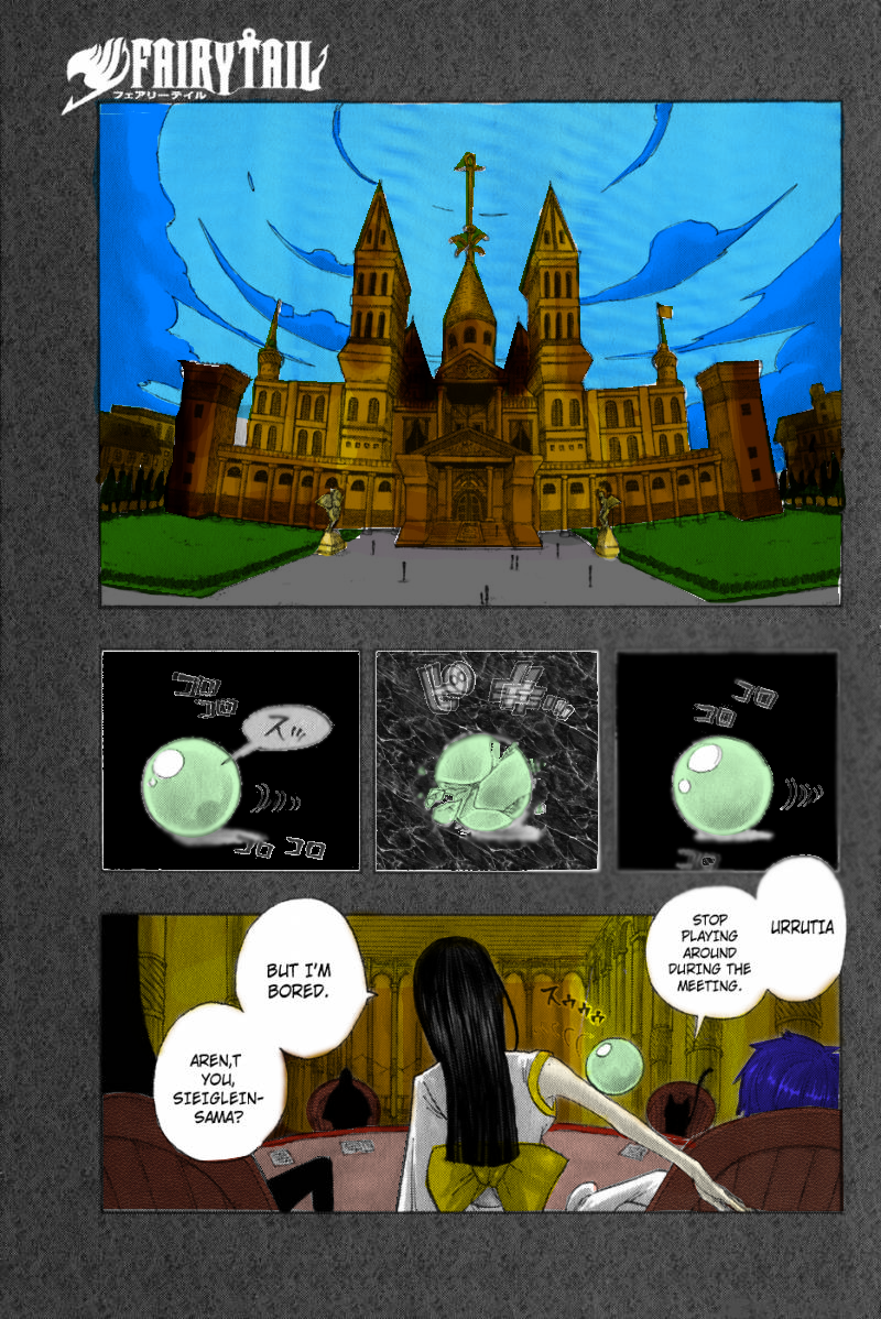 Fairy Tail Page One - Coloured by FeliDragon1604