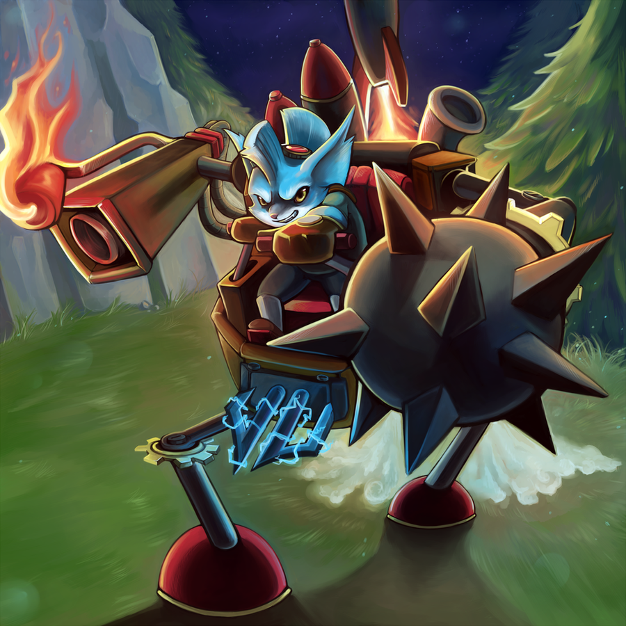 Ready to Rumble by RinTheYordle