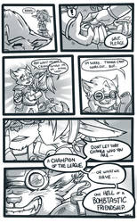 Ziggs and Rin - Tumblr Comic