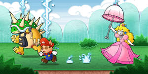 Princess Karthus - Paper Mario Style - LoL Comm.