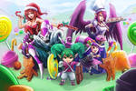 Sugar Rush! League of Legends~