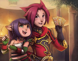 FFXIV Commission: For Mghosta! by RinTheYordle