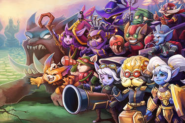 All The Yordles! by RinTheYordle