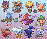 Yordle Sticker Page!