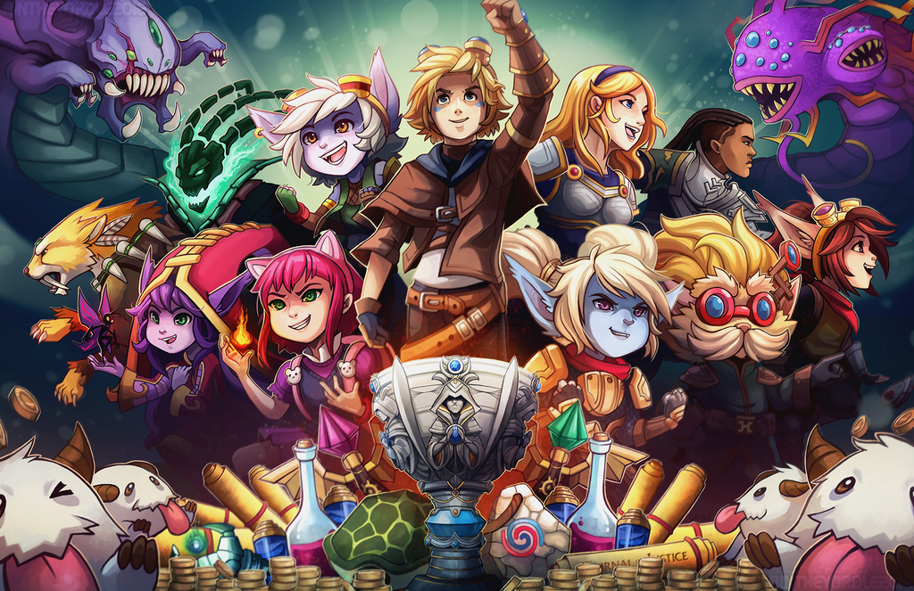 League of legends pax east by rintheyordle on deviantart