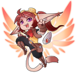 New Rin Hype Chibi! by RinTheYordle