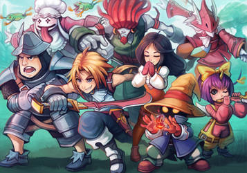 Final Fantasy 9 Fan Art by RinTheYordle