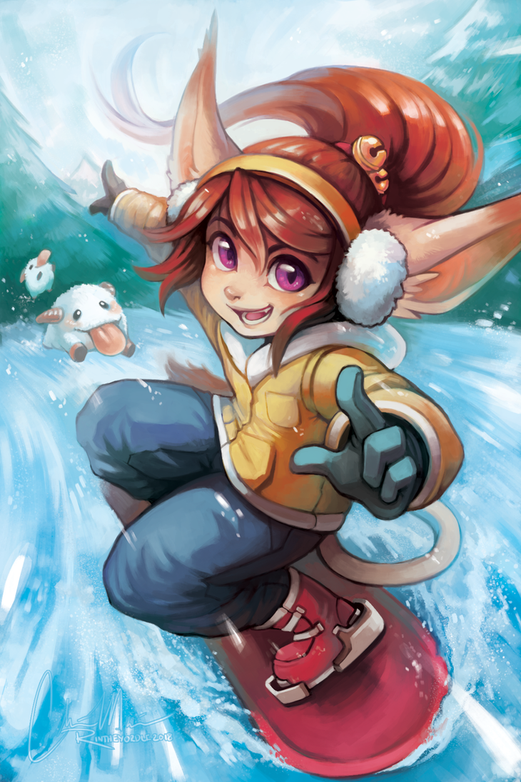 Happy (late) Holidays from Rin! by RinTheYordle